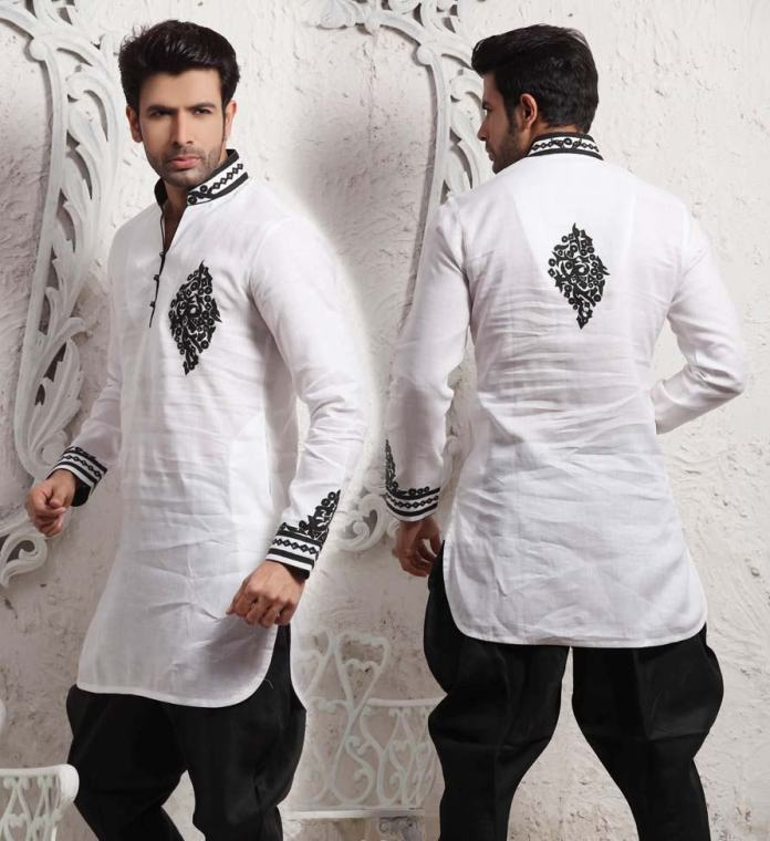 embroidered kurta pajama designs