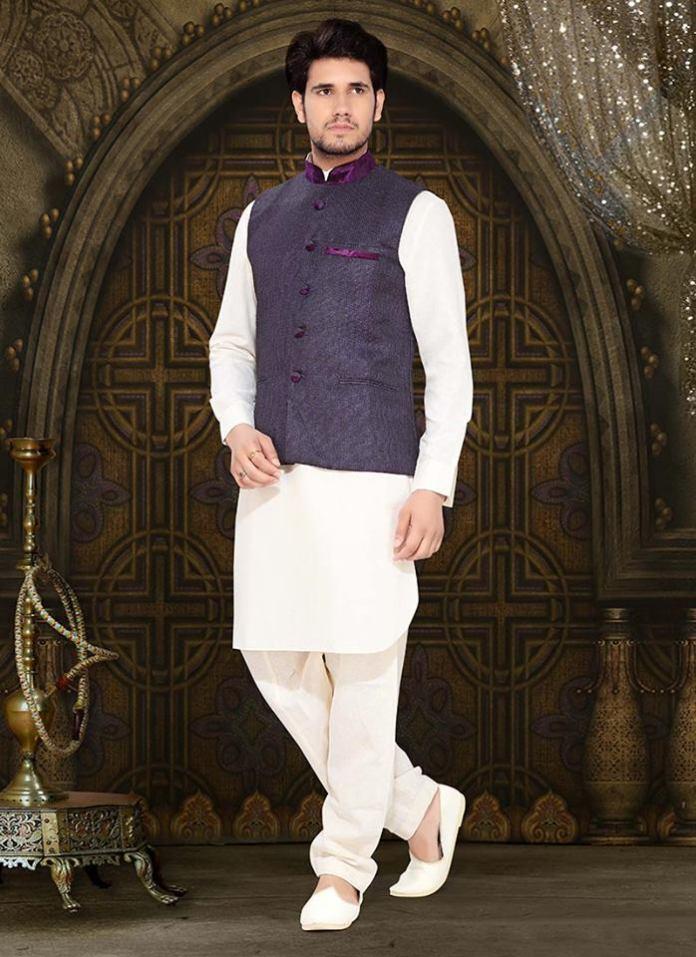 kurta pajama with nehru jackets