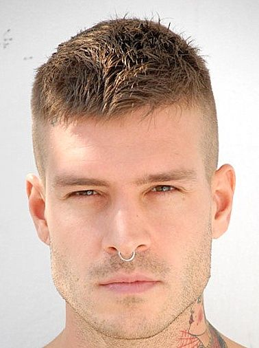 men-modern-crew-cut-hair-style hairstyle for men Men Hairstyle