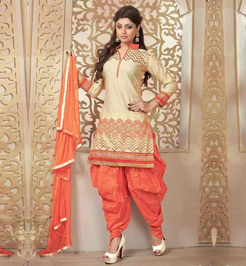 Churidar stitching styles of dresses