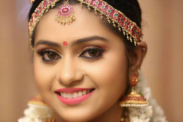 south indian bridal make up for wedding