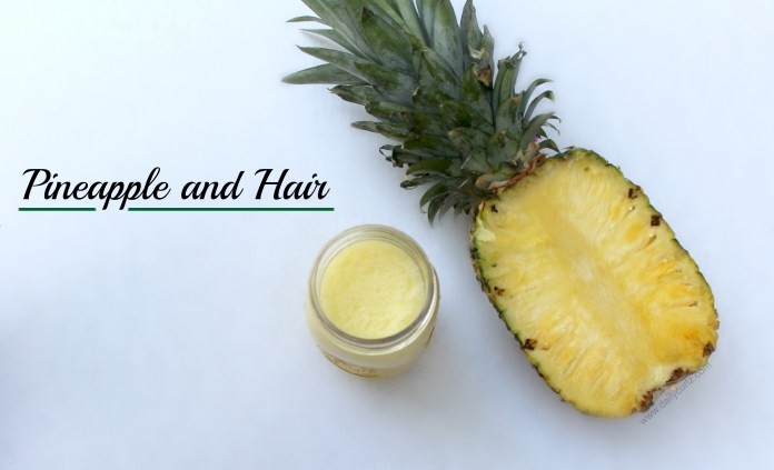pine apple for hair growth