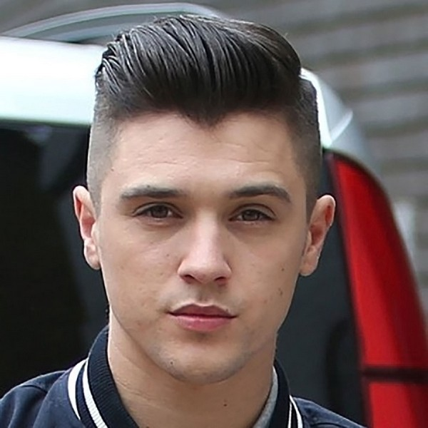 pompadour-comb-over-fade Mens Hairstyles Hairstyles for men New Hairstyles for men