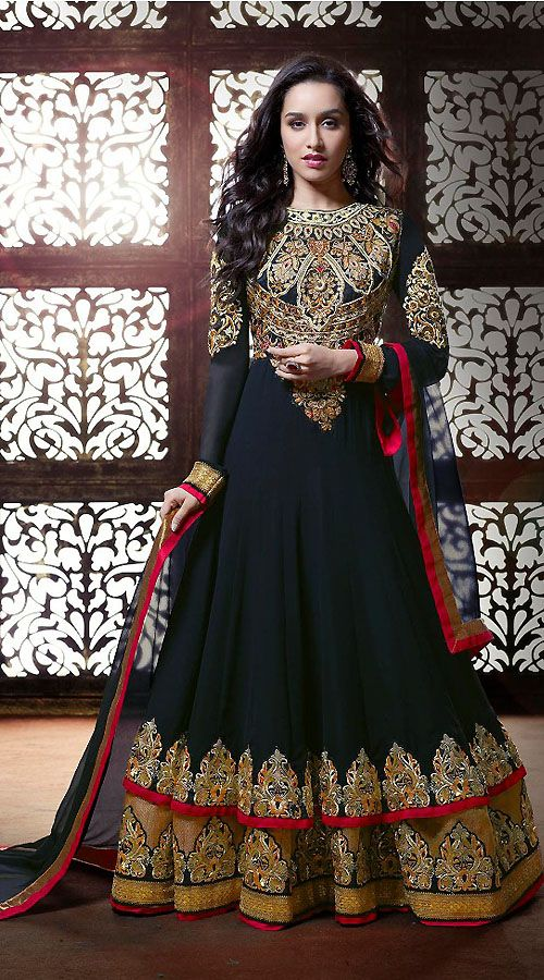 latest churidar suit designs