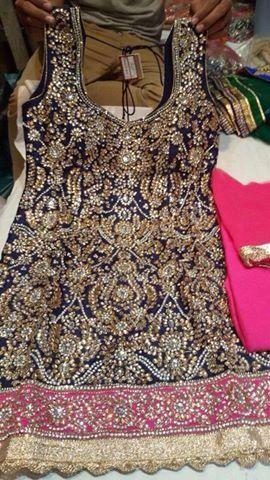 punjabi bridal salwar suit designs