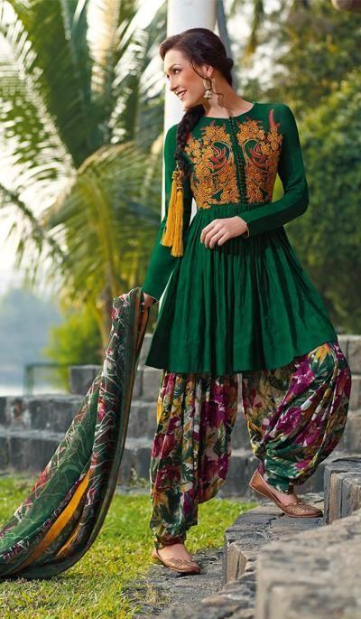 salwar kameez designs for thin girls