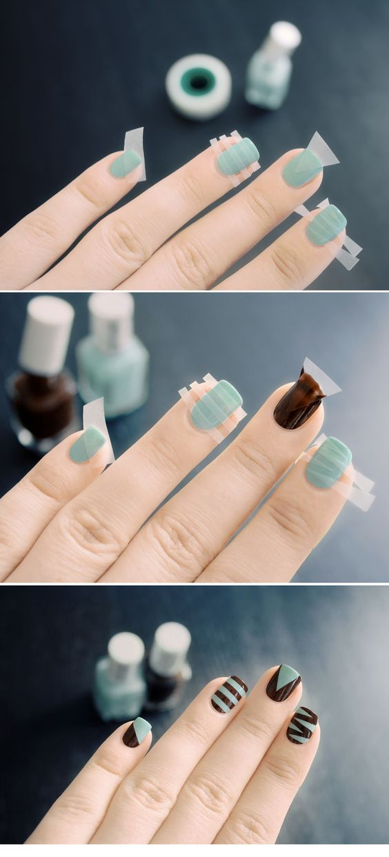 stylish nail art tutorial