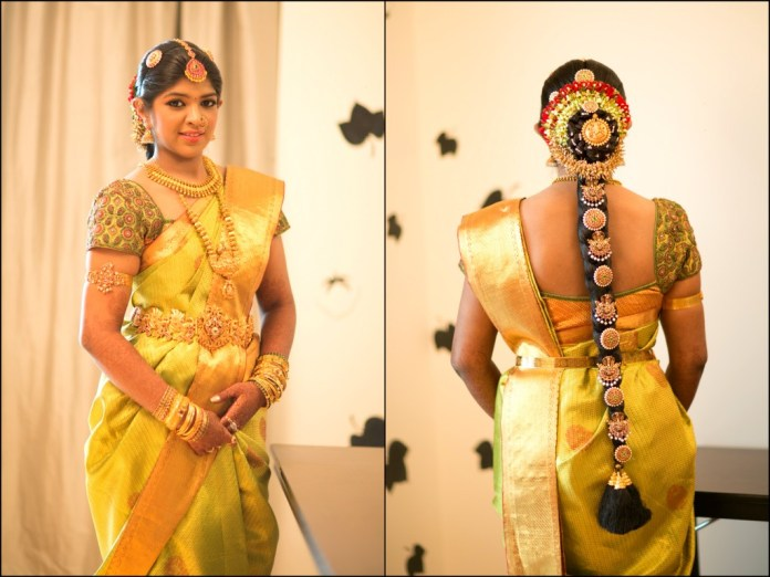 south indian wedding blouse design