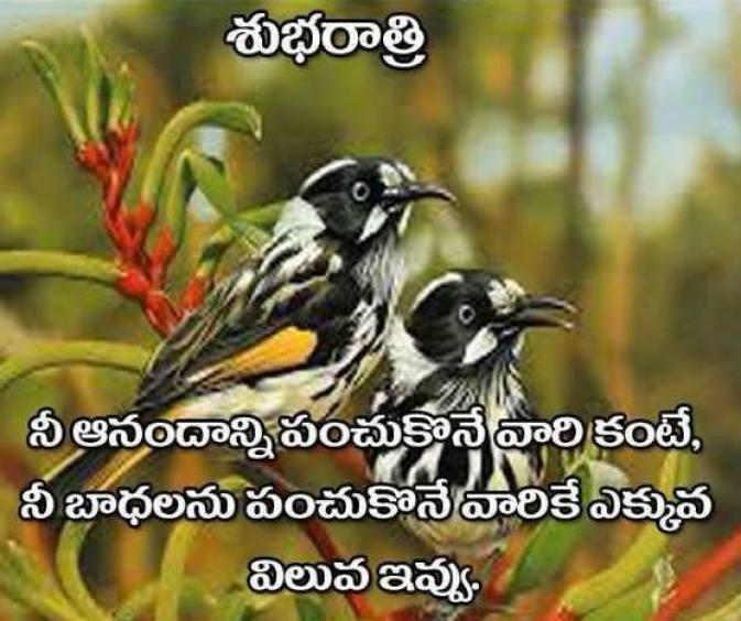 telugu latest good morning message