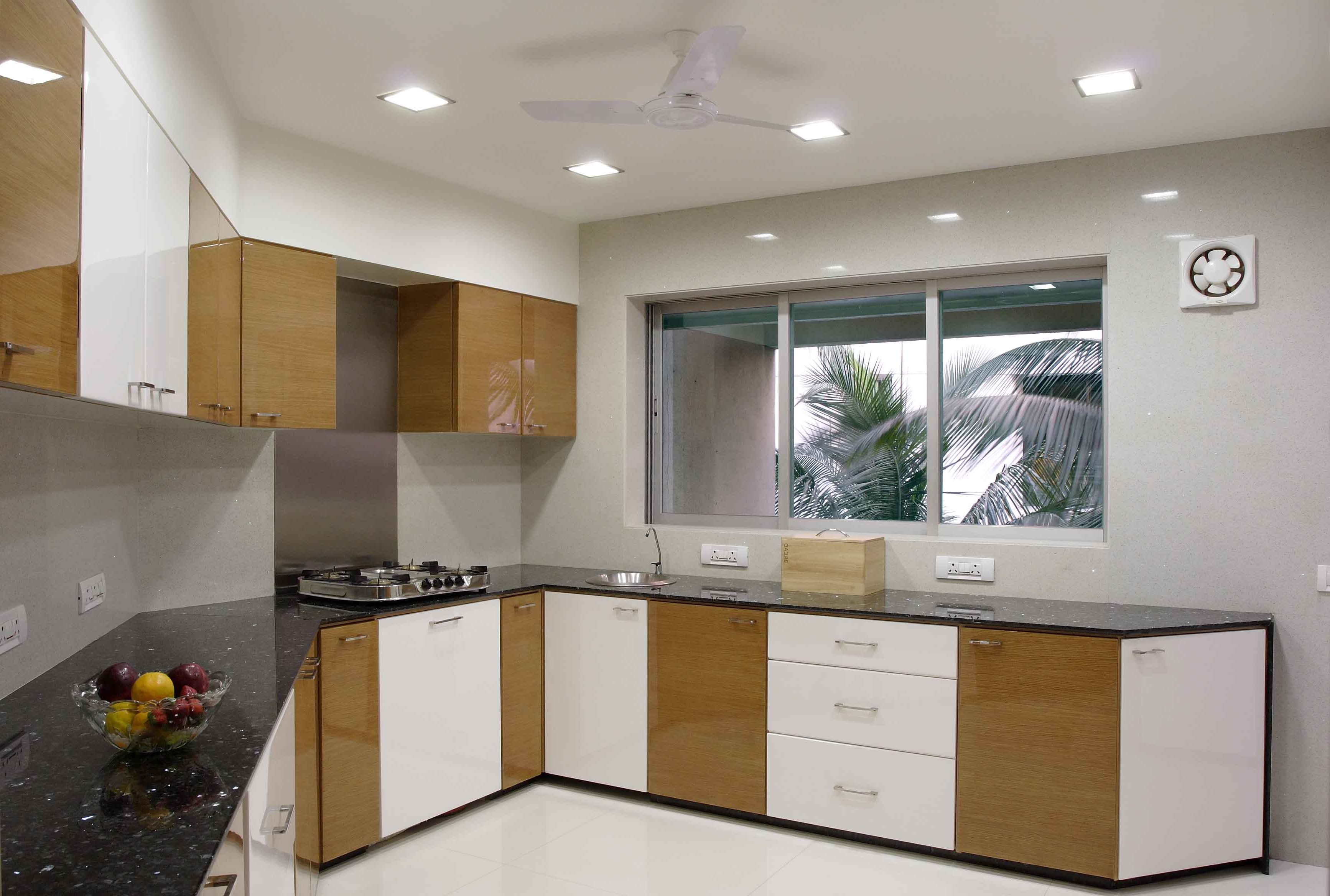 The Small Kitchen Is An Example Of Perfect Use Of Small Spaces To Design A  Couple. The Half Quadrilateral Shape Of The Kitchen Looks Perfect When You  Are ... Part 65