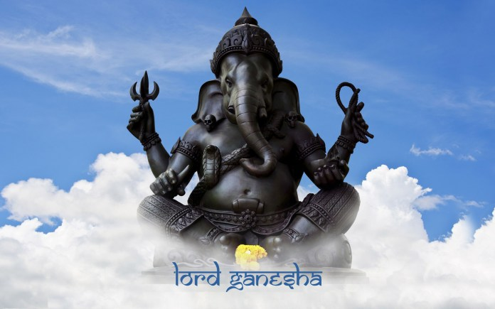 lord ganesha hd wide wallpapers