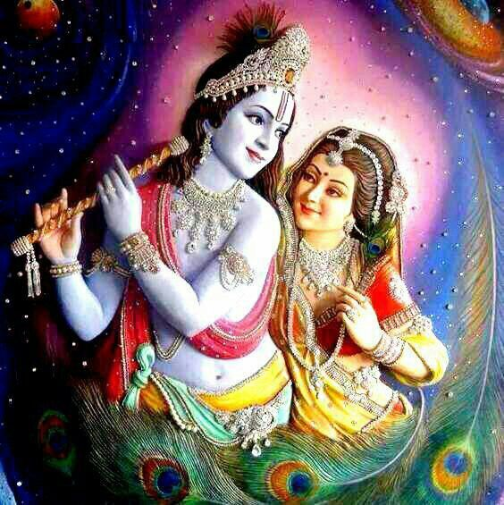 Lord Krishna With Radha Lovely Desktop High Resolution Wallpapers ,