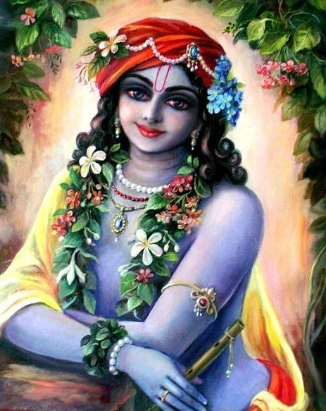 Beautifully Decorated Lord Krishna Janmashtami HD Wallpapers