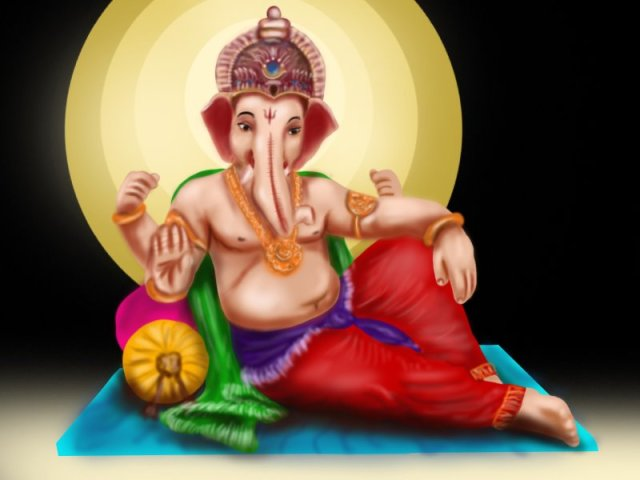 Lord Ganesh Beautiful Wallpapers