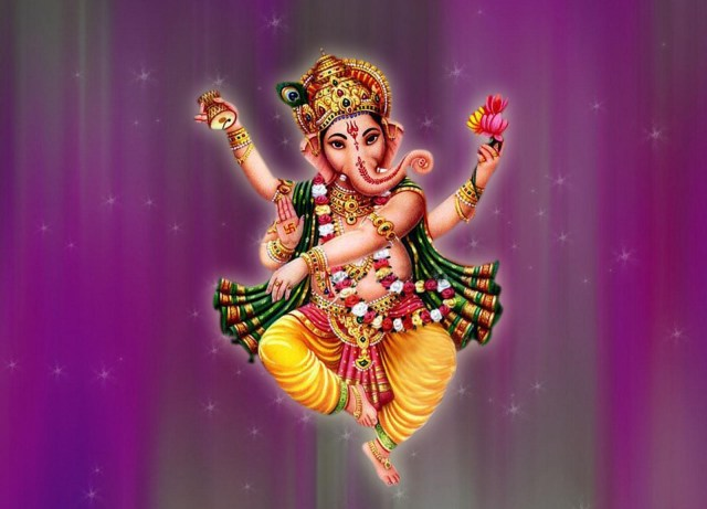 ganesha dancing images