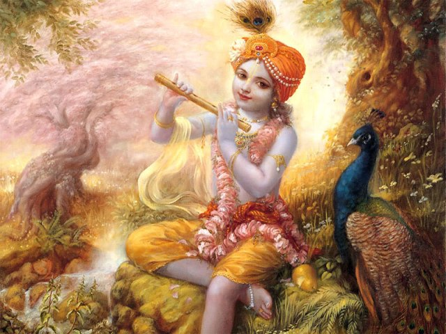 Lord Krishna Beautiful Childhood Photos
