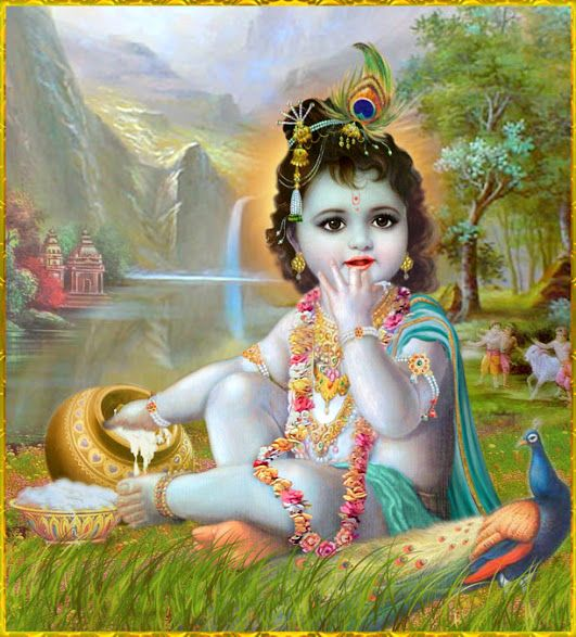 Lord Krishna And Mirabai Desktop Beautiful HD Wallpapers