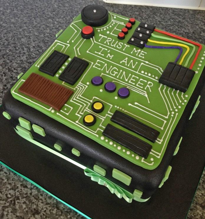 happy engineers day cakes