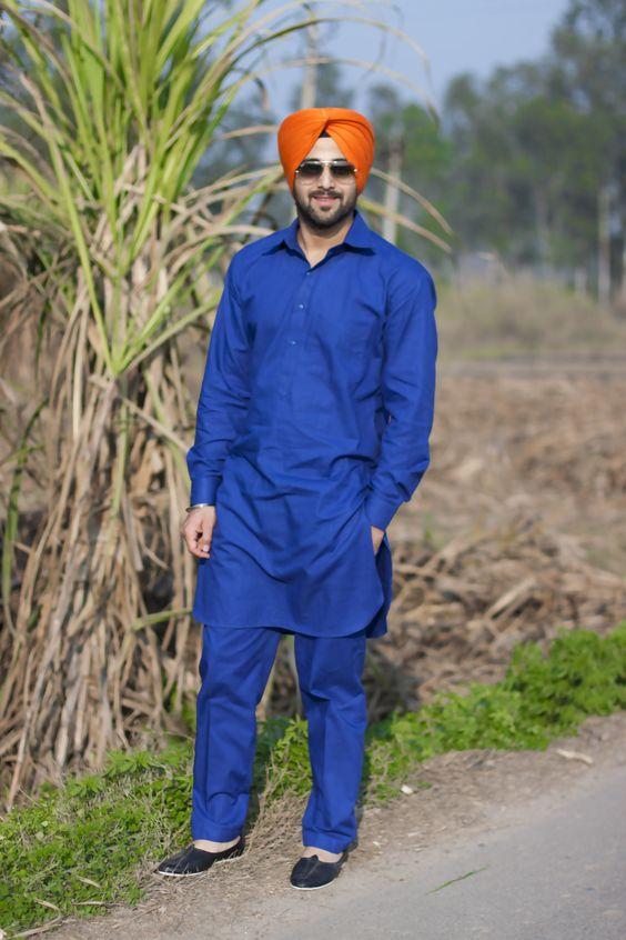 sikh kurta pajama designs