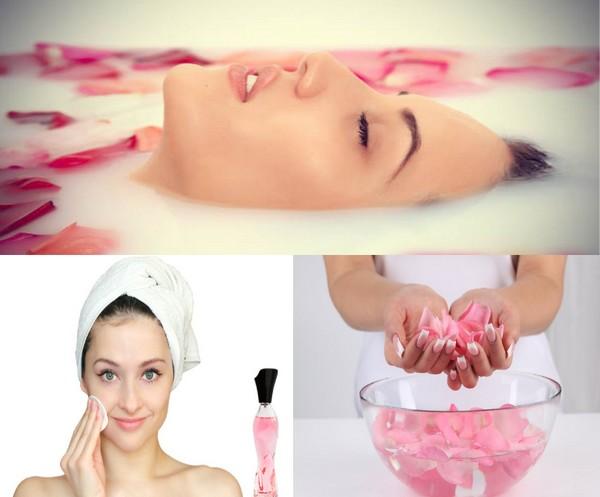 rose water benefits on skin