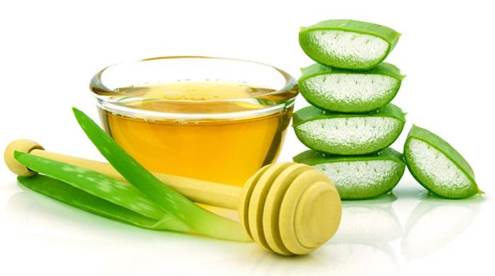 ALOE VERA AND HONEY HAIR MASK