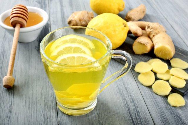 honey ginger lemon for sore throat