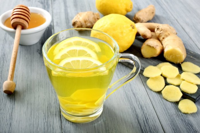 honey ginger lemon for sore throat
