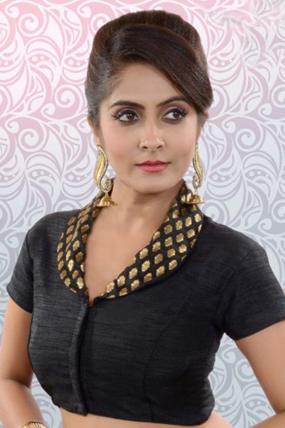 simple work blouse design