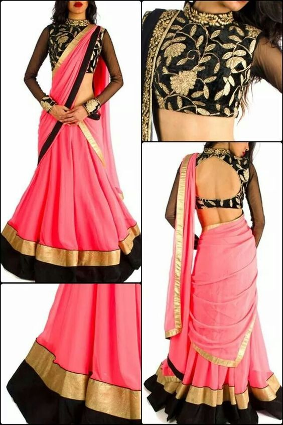 Latest Fashionable Sleeves Designs For Blouse Latest Top Best Blouse Designs For Saree Blouse Designs Blouses Discover The Latest Best Selling Shop Women S Shirts High Quality Blouses
