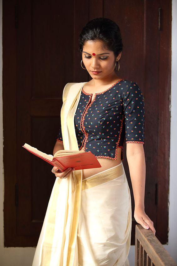 rich look blouse design