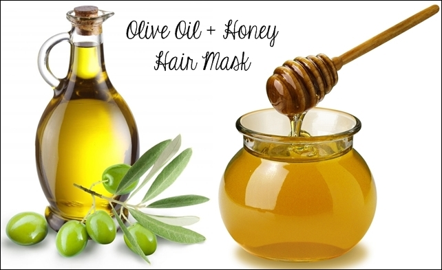honey and olive oil hair mask