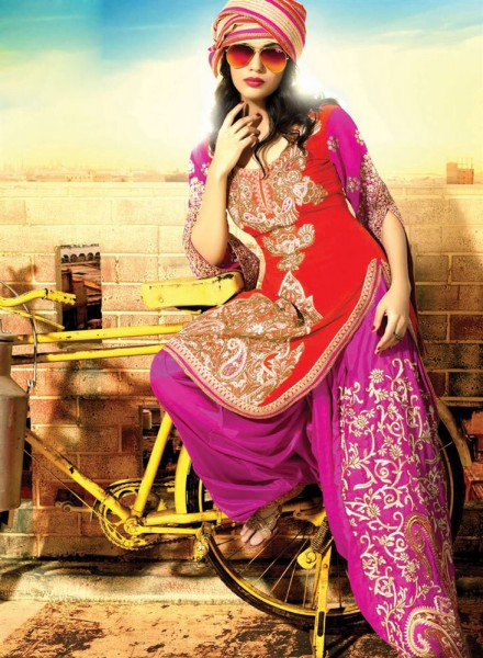 punjabi suit for girls