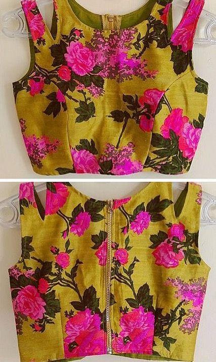 cut style blouse design