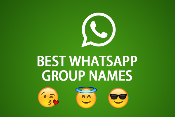 Top 1000+ Cool Funny Best Whats Group Name List For Lovers