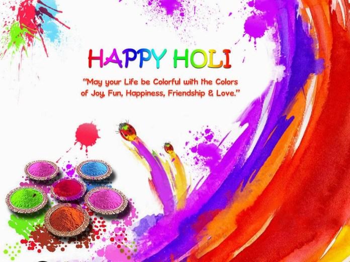 happy holi animated images