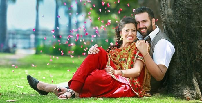 punjabi style pre wedding photoshoot ideas