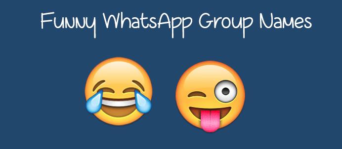 2500+ Best Whatsapp Group Names