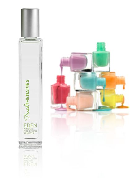 Acetone-free natural nail polish remover