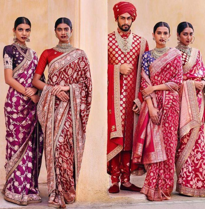 wedding sarees for bride
