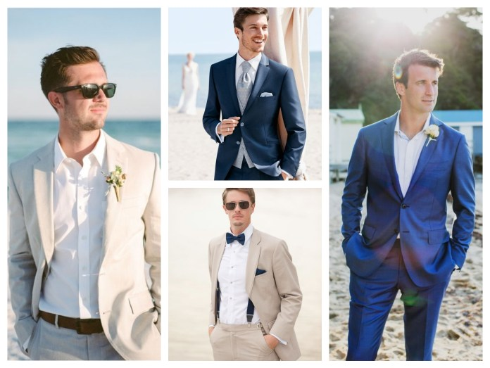 Beach Wedding Outfit For Groom