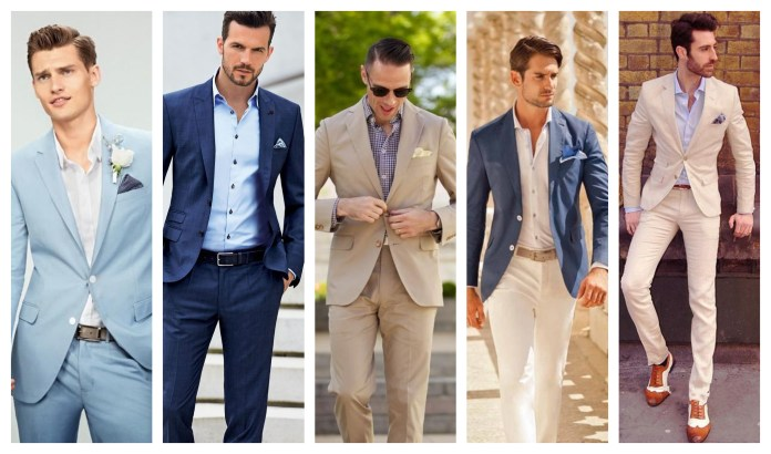 Semi-Formal Suits For Wedding