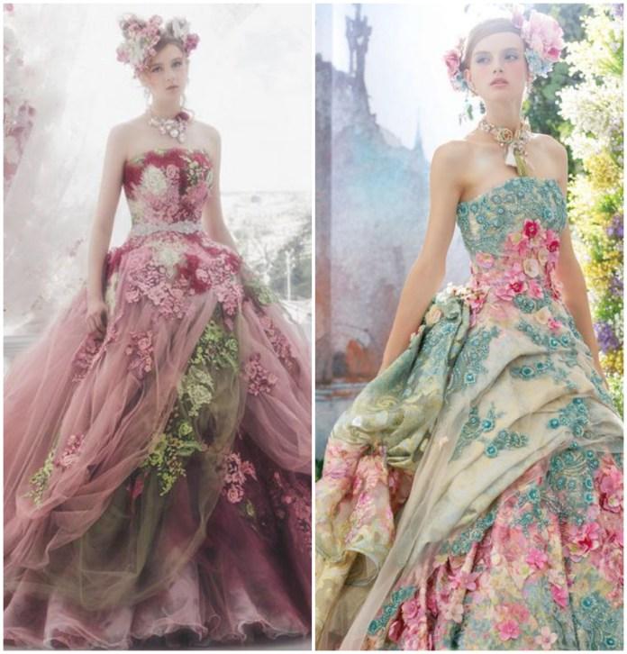Asymmetrical Gown Online
