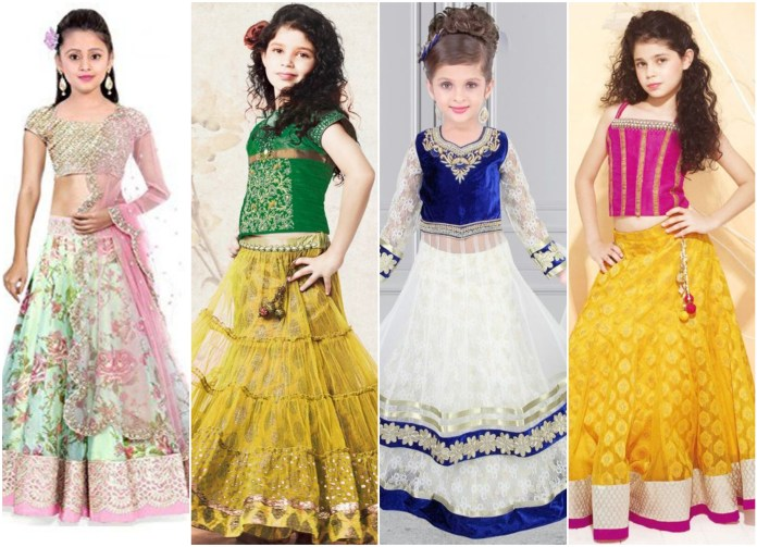 Net Lehenga Choli For Baby
