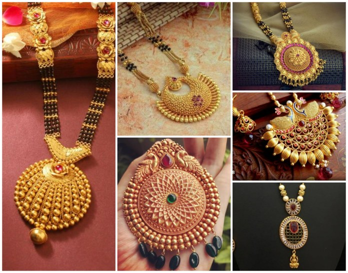 10 Latest Mangalsutra Designs In Gold Trending Design 2019