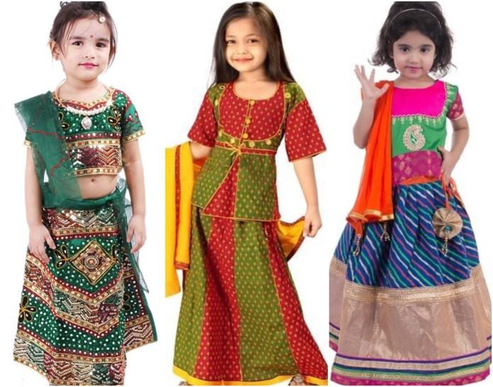 Rajasthani Chaniya Choli For Baby