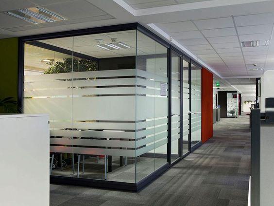 Glass Walls Office Design