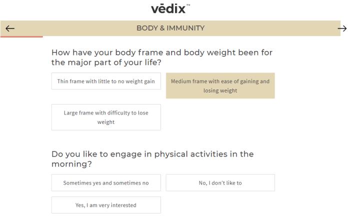 Vedix survey