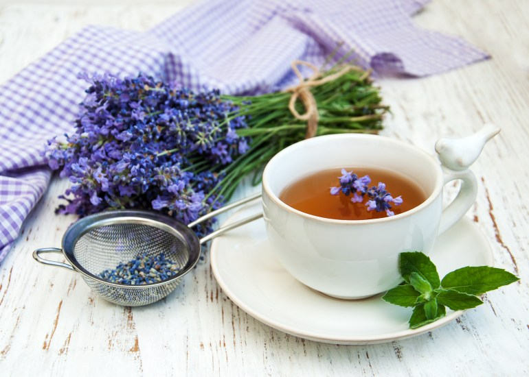 lavender benefits in herbal tea