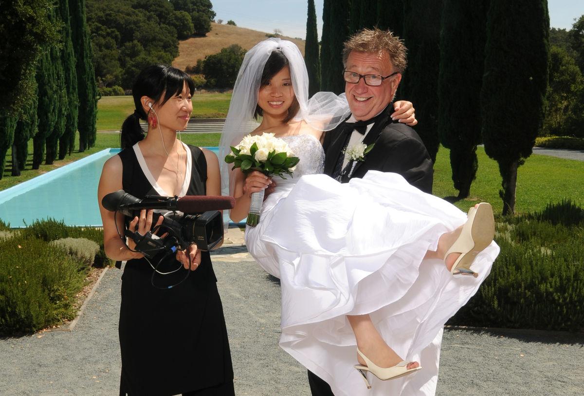 Women marrying older men
