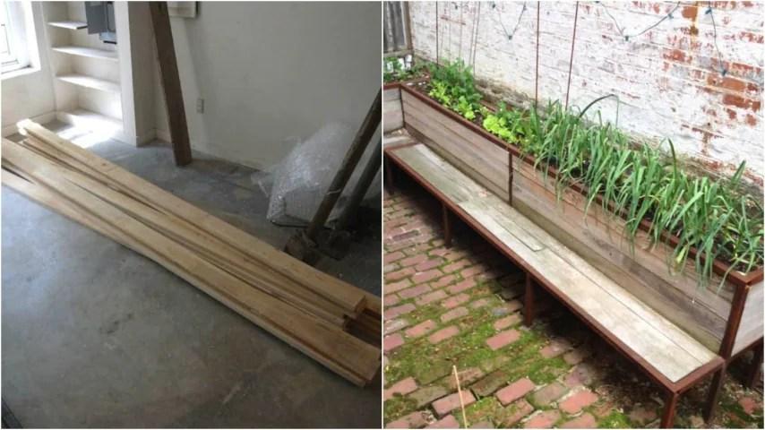 Come Costruire Una Panchina In Legno Per Il Giardino Un